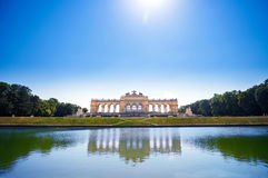 The Gloriette in Schoenbrunn Palace Garden Stock Images