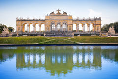 The Gloriette in Schoenbrunn Palace Garden Royalty Free Stock Image
