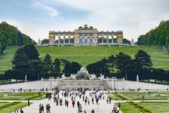 The Gloriette in the Schoenbrunn Palace Garden Royalty Free Stock Images