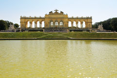 Gloriette Schoenbrunn Palace  Vienna Stock Photo