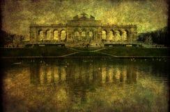 Gloriette, Schoenbrunn Palast, Wien Stockfotos