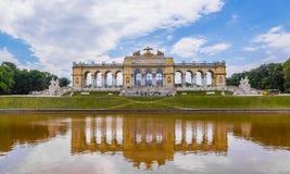 Gloriette Schoenbrunn Wien Royaltyfria Bilder