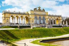 The Gloriette in the Schonbrunn Garden, Vienna, Austria Royalty Free Stock Photos