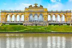The Gloriette in the Schonbrunn Garden, Vienna, Austria Stock Photos