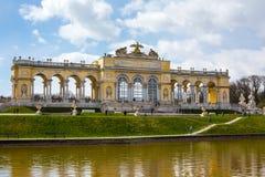 The Gloriette in the Schonbrunn Garden, Vienna Stock Photo