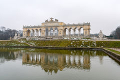 Gloriette in Schonbrunn Palace Garden - Vienna, Austria Stock Photography