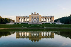 The Gloriette. In the Schonbrunn Palace Garden, Vienna, Austria Royalty Free Stock Images