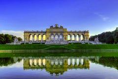 The Gloriette. In the Schonbrunn Palace Garden, Vienna, Austria Stock Image