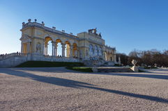 Gloriette in the Schonbrunn Palace Garden - attraction in Vienna, Austria Stock Photos