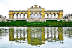 The Gloriette in Schonbrunn Palace Garden. Vienna, Austria Royalty Free Stock Photo