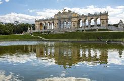 Gloriette Schonbrunn Palace Garden, Vienna, Austria Stock Photo