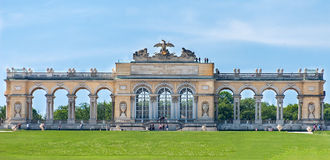 The Gloriette. The Schonbrunn Palace Stock Photo