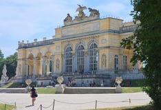 Gloriette. Schonbrunn. Vienna, Austria Stock Images