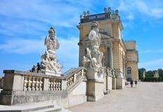 Gloriette. Schonbrunn. Vienna, Austria Stock Image