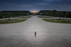 Gloriette at Schonbrunn Vienna, Austria Royalty Free Stock Images