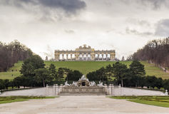 Gloriette in  Schonbrunn, Vienna Stock Photos