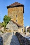 Gloriette torn i Arbois Arkivbild