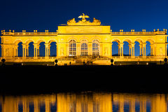 Gloriette Vienna At Night Royalty Free Stock Photo