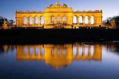 Gloriette Vienna At Night Royalty Free Stock Photography
