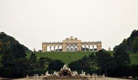 The Gloriette in Vienna Stock Photo