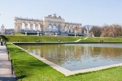 Gloriette, Vienne, Autriche Photo libre de droits