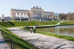 Gloriette, Vienne, Autriche Images libres de droits