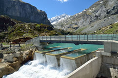 Gloriettes dam in the French Pyrenees Stock Image