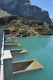 Gloriettes dam in the French Pyrenees Stock Photo