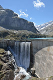 Gloriettes dam in the French Pyrenees Royalty Free Stock Photography