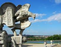 Gloriety struktura w Schonbrunn pałac Obrazy Royalty Free