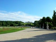 Gloriety struktura w Schonbrunn pałac Fotografia Stock