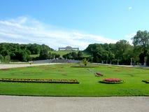 Gloriety struktura w Schonbrunn pałac Obrazy Stock