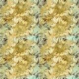 Gloriosa картина безшовная Цветки и листья - фоновое изображение акварели - декоративный состав Используйте напечатанные материал Стоковое Изображение
