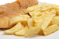 Glorious Fish & Chips Royalty Free Stock Photo