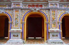 Glorious gate at citadel in Hue, Vietnam Stock Photography
