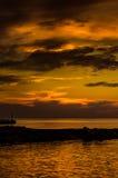 Glorious Golden Sunset Stock Image