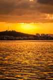 Glorious Golden Sunset Royalty Free Stock Image