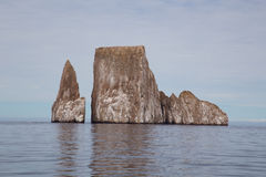 Glorious Kicker Rock. The stunning rock formation of Kicker Rock (Leon Dormido), Galapagos Stock Photo