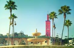 The glorious Mosque of Sidi Bou Abid Stock Image
