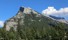 Glorious Mount Rundle Stock Images