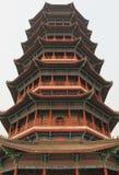 Glorious Pagoda. In buddhism temple Jiaozhou, China Stock Photos