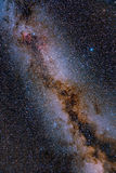 The Glorious Summer Milky Way Royalty Free Stock Photos