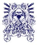Glorious royalty free illustration