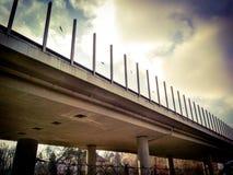 Glorius κάτω από την άποψη γεφυρών Στοκ εικόνα με δικαίωμα ελεύθερης χρήσης