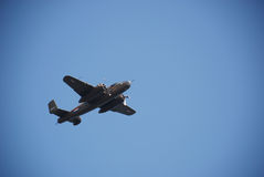 Glory bomber B-25 Stock Photos