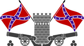 Glory of confederacy Royalty Free Stock Image