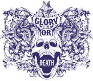 Glory or death Royalty Free Stock Photography
