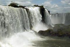 Glory of Iguazu Falls Royalty Free Stock Image
