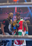 GLORY 9 Kickboxing Royalty Free Stock Photo