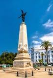 Glory Obelisk i stadsmitten av Oran, Algeriet fotografering för bildbyråer